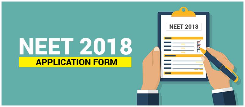 NEET 2018 Online Application form