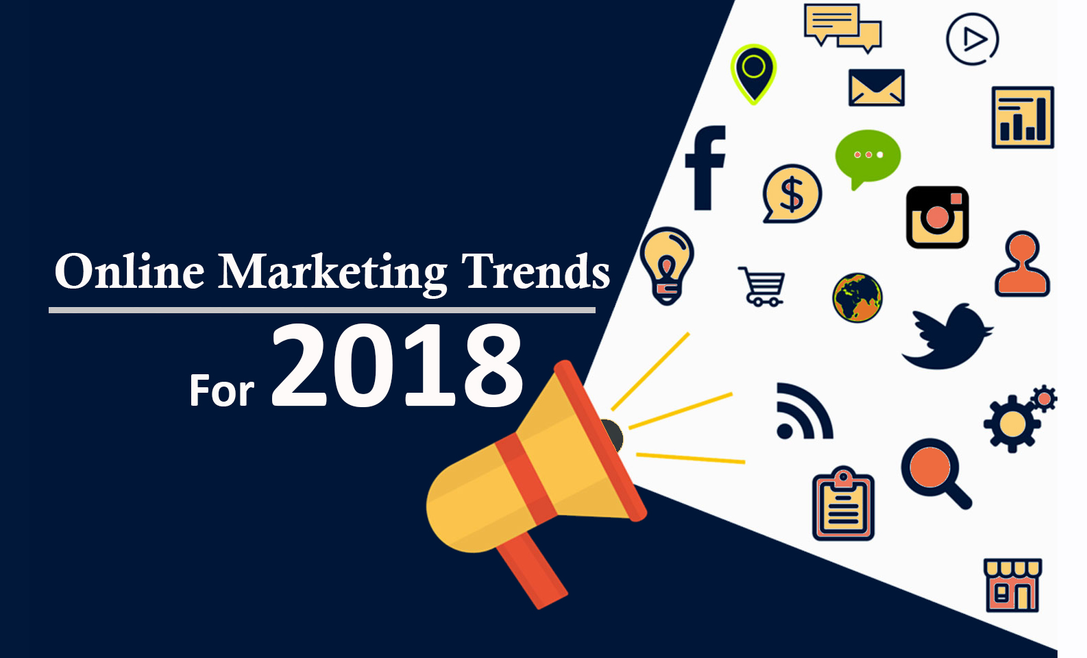 Online Marketing Trends & Strategies For 2018