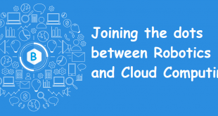 Joining the dots between robotics and cloud computing.