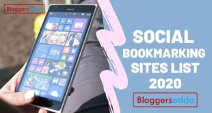 Social Bookmarking Sites List 2020